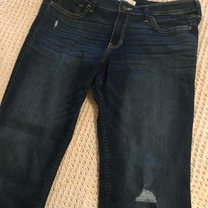 Light distressed Hollister Jeans